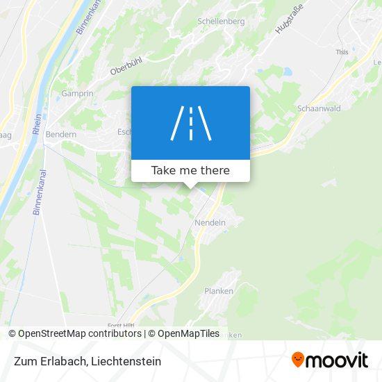 Zum Erlabach map