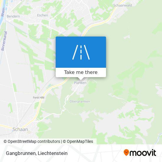 Gangbrunnen map