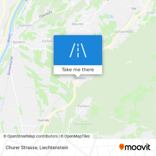 Churer Strasse map