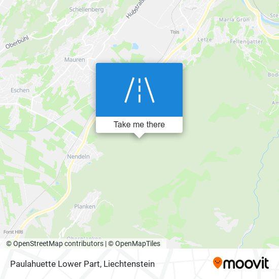 Paulahuette Lower Part map