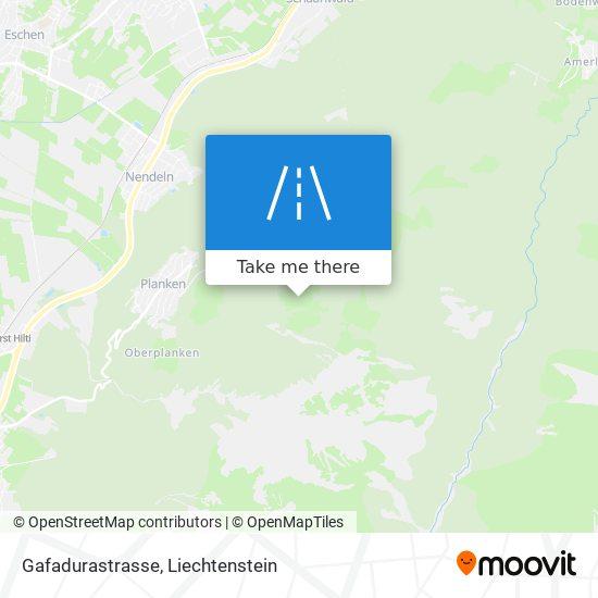 Gafadurastrasse map