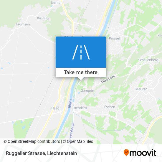 Ruggeller Strasse map