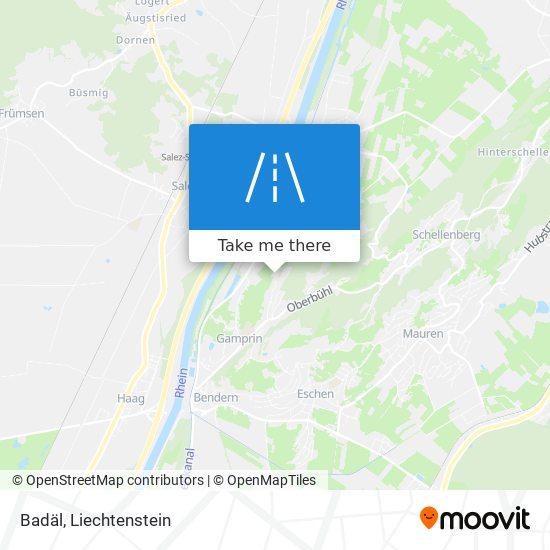 Badäl map