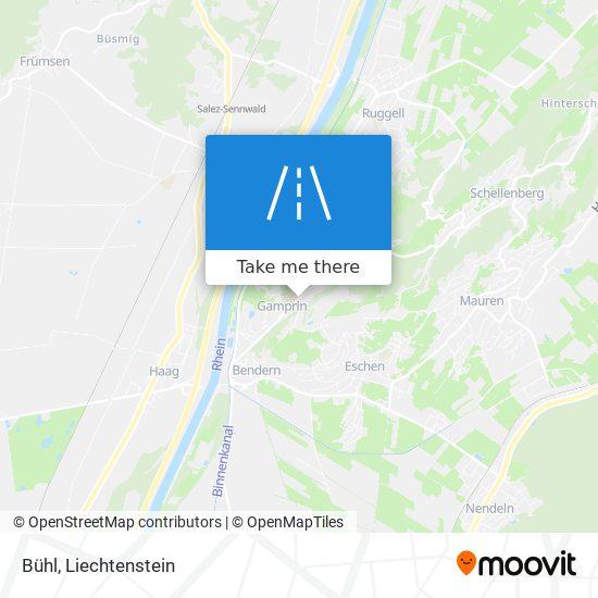 Bühl map