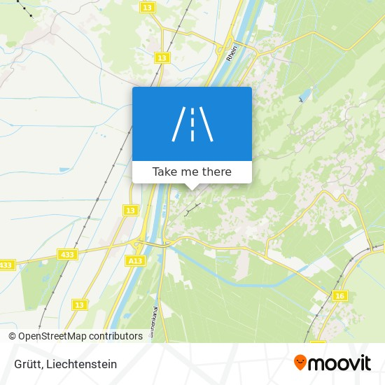 Grütt map