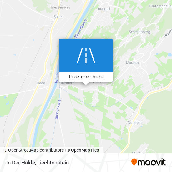 In Der Halde map