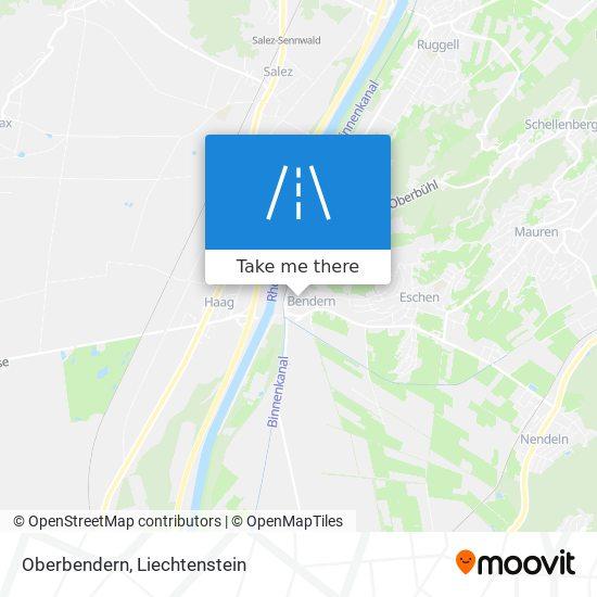 Oberbendern map