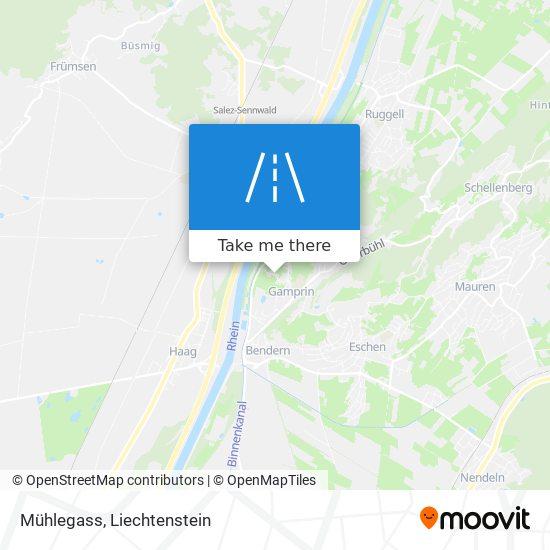 Mühlegass map