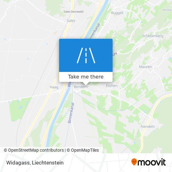 Widagass map