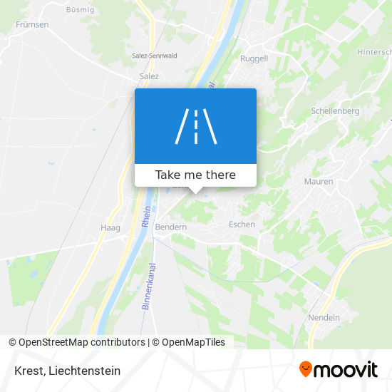 Krest map