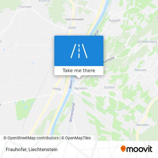 Frauhofer map