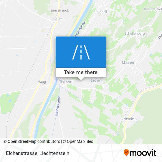 Eichenstrasse map