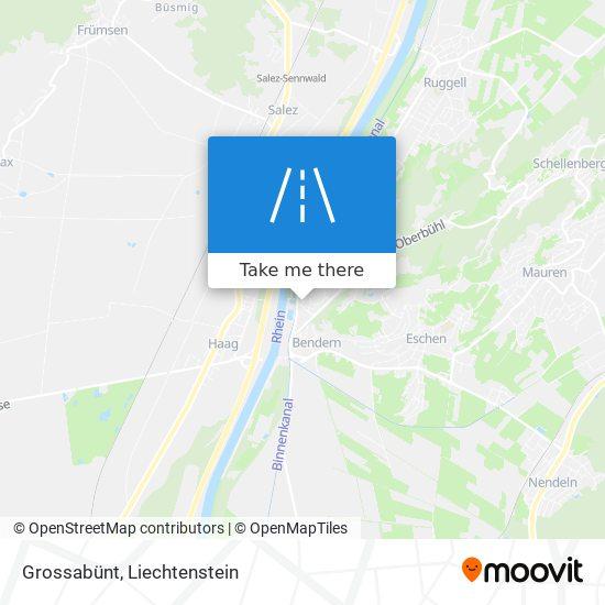 Grossabünt map