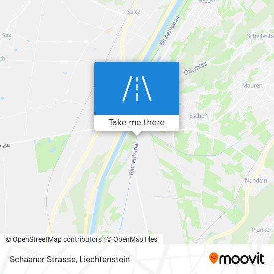 Schaaner Strasse map
