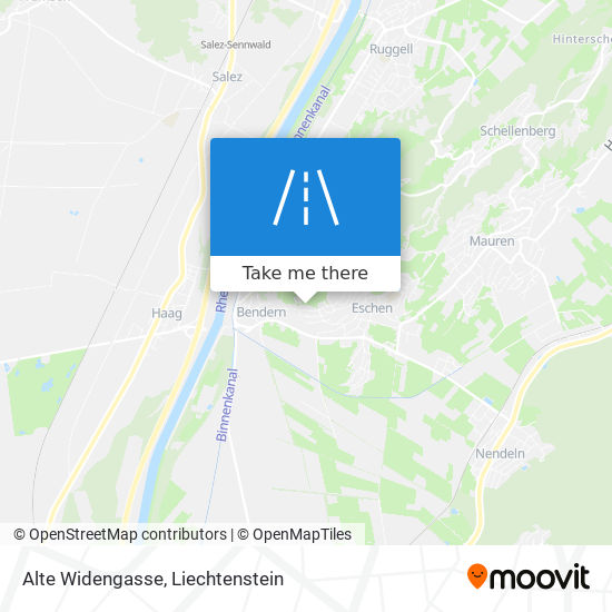 Alte Widengasse map