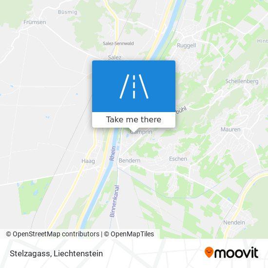 Stelzagass map