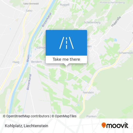 Kohlplatz map