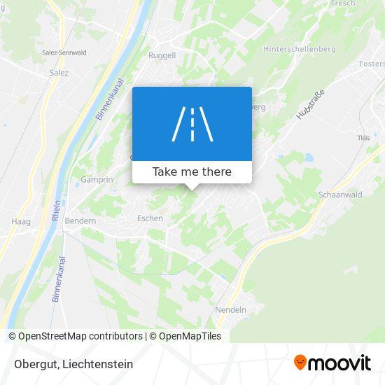 Obergut map