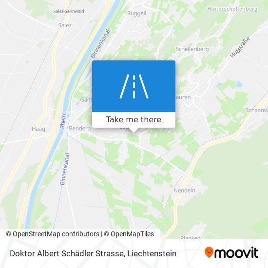 Doktor Albert Schädler Strasse map