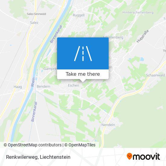 Renkwilerweg map