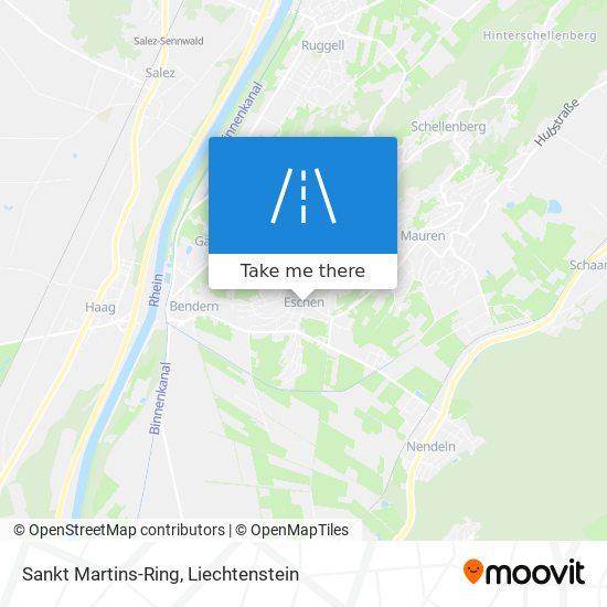 Sankt Martins-Ring map