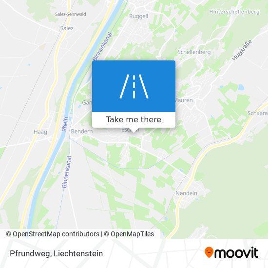 Pfrundweg map