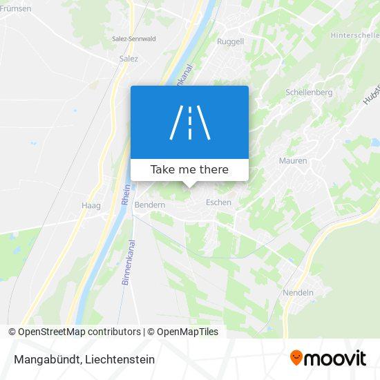 Mangabündt map