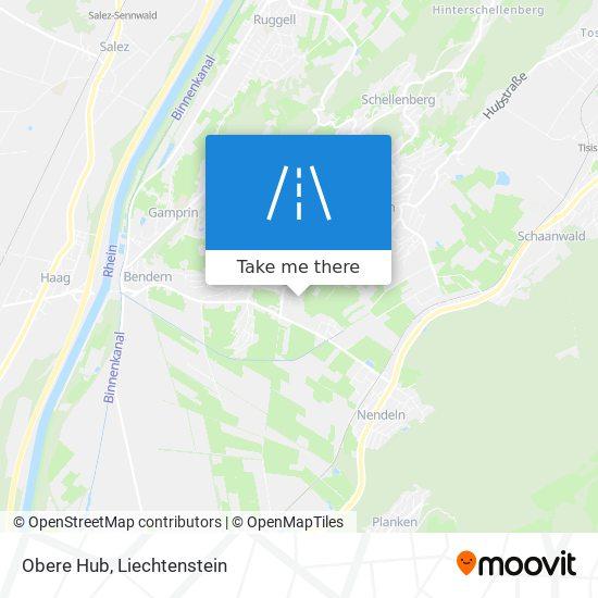 Obere Hub map
