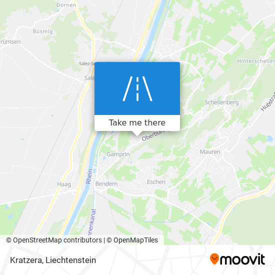 Kratzera map