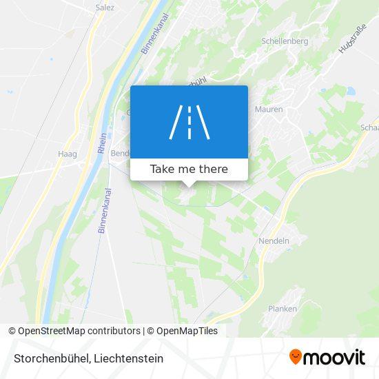 Storchenbühel map