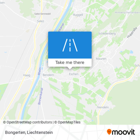 Bongerten map