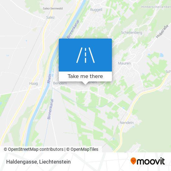 Haldengasse map