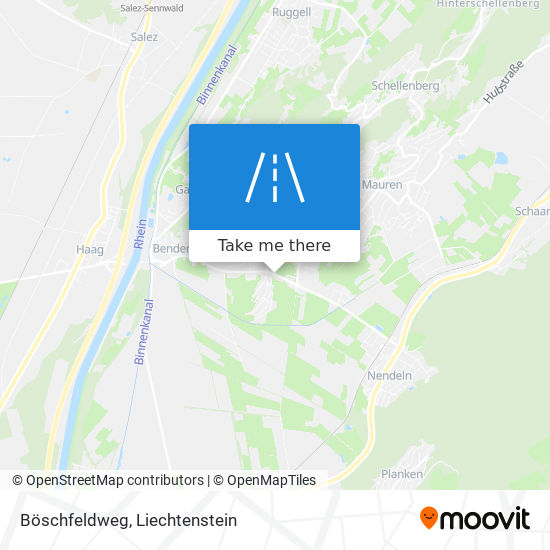 Böschfeldweg map