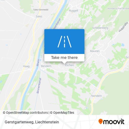 Gerstgartenweg map