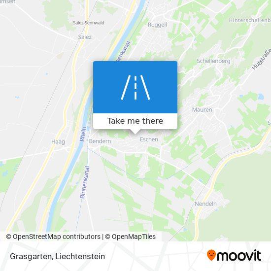 Grasgarten map