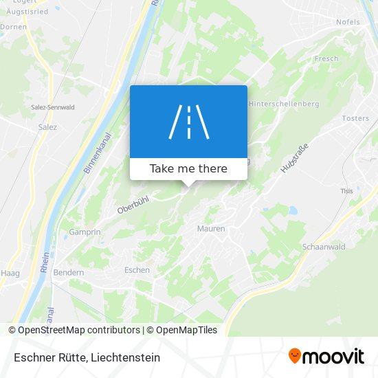 Eschner Rütte map
