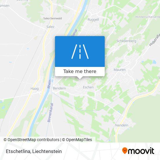 Etschetlina map