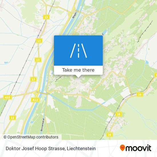Doktor Josef Hoop Strasse map