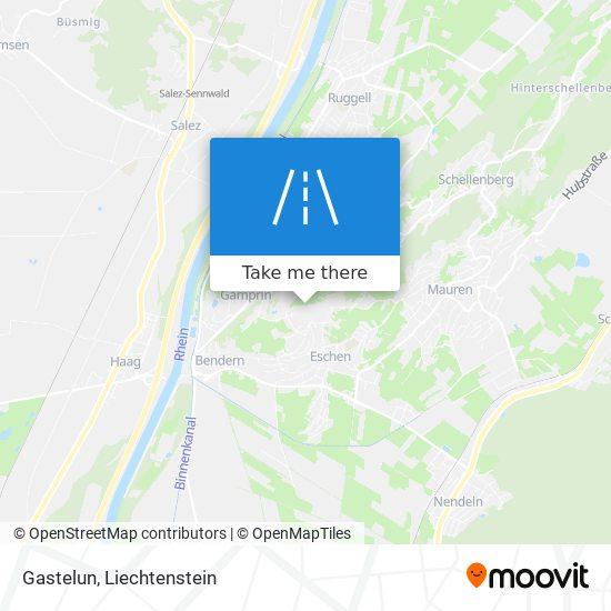Gastelun map