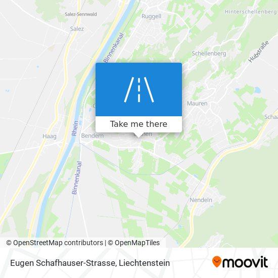 Eugen Schafhauser-Strasse map