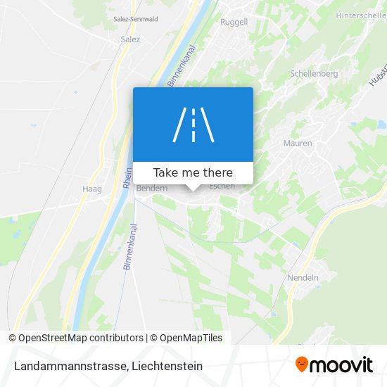 Landammannstrasse map