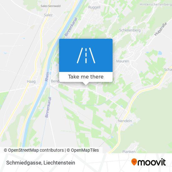 Schmiedgasse map