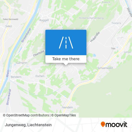 Jungenweg map