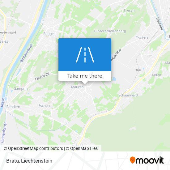 Brata map