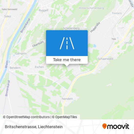 Britschenstrasse map