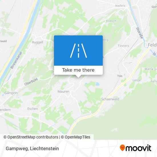 Gampweg map