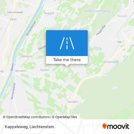 Kappeleweg map
