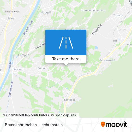 Brunnenbritschen map