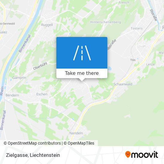 Zielgasse map