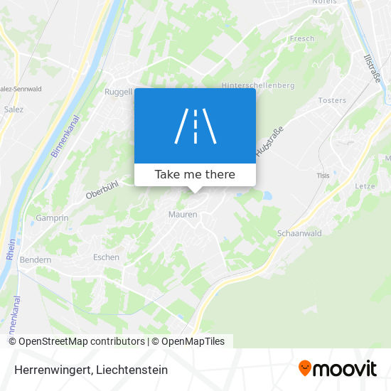 Herrenwingert map